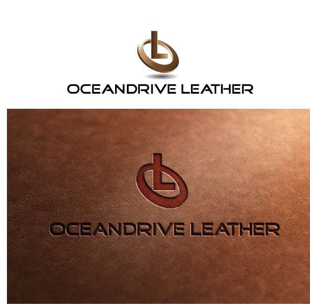 Logo Design by Private User - Entry No. 24 in the Logo Design Contest Captivating Logo Design for Oceandrive Leather.