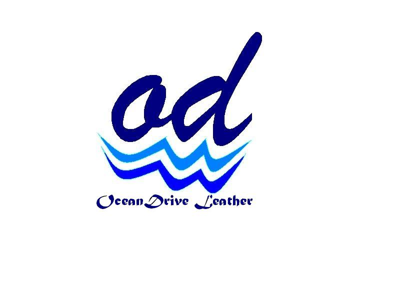 Logo Design by Mercedita Gerna-Castro - Entry No. 25 in the Logo Design Contest Captivating Logo Design for Oceandrive Leather.