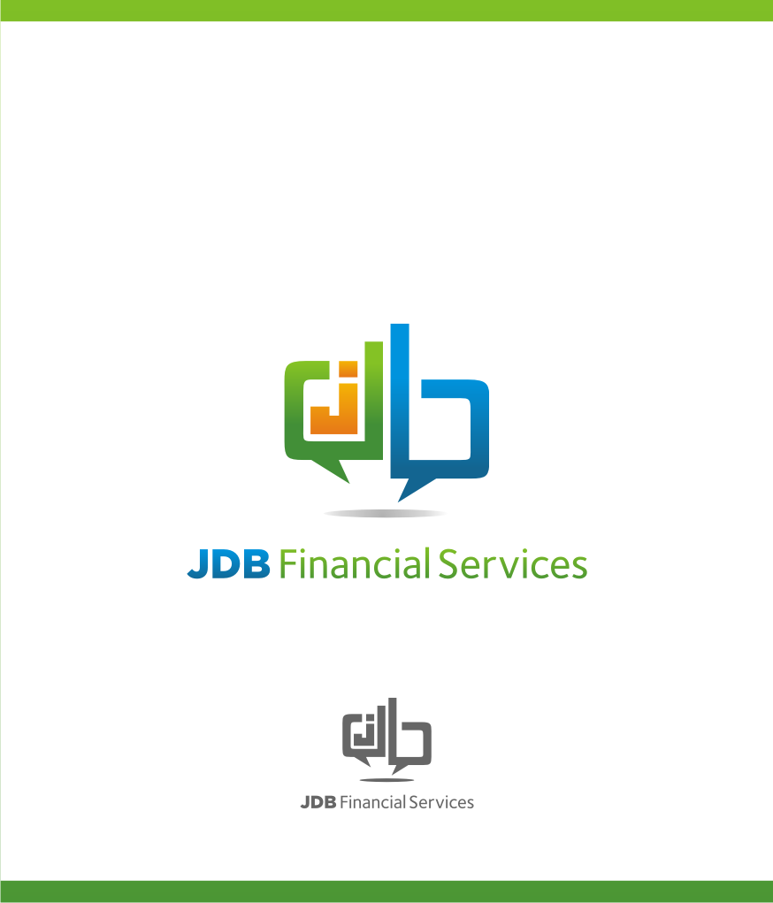 Logo Design by graphicleaf - Entry No. 80 in the Logo Design Contest Unique Logo Design Wanted for JDB Financial Services.
