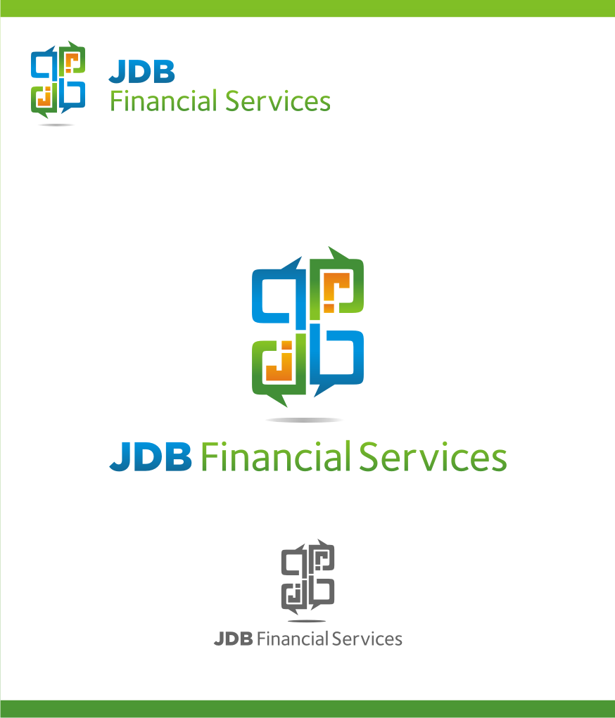 Logo Design by graphicleaf - Entry No. 81 in the Logo Design Contest Unique Logo Design Wanted for JDB Financial Services.