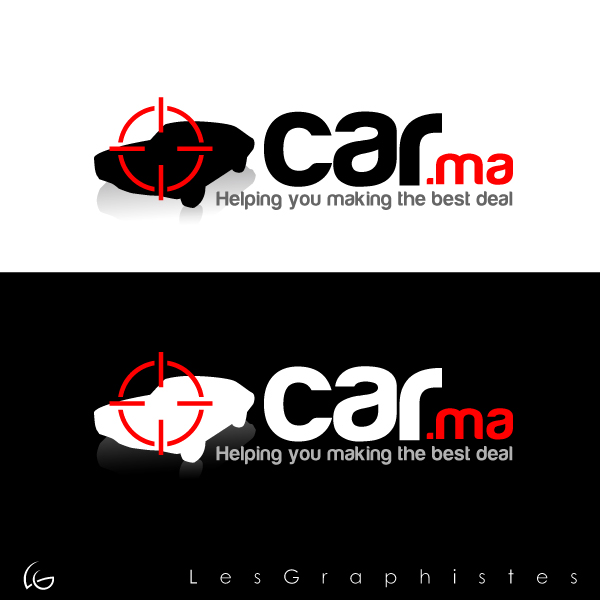 Logo Design by Les-Graphistes - Entry No. 4 in the Logo Design Contest New Logo Design for car.ma.