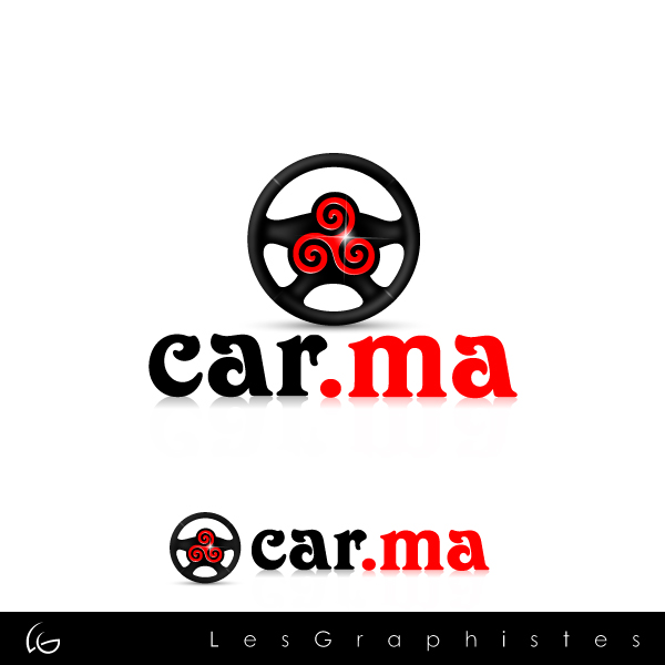 Logo Design by Les-Graphistes - Entry No. 78 in the Logo Design Contest New Logo Design for car.ma.