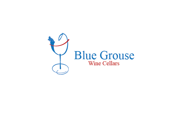 Logo Design by Private User - Entry No. 73 in the Logo Design Contest Creative Logo Design for Blue Grouse Wine Cellars.