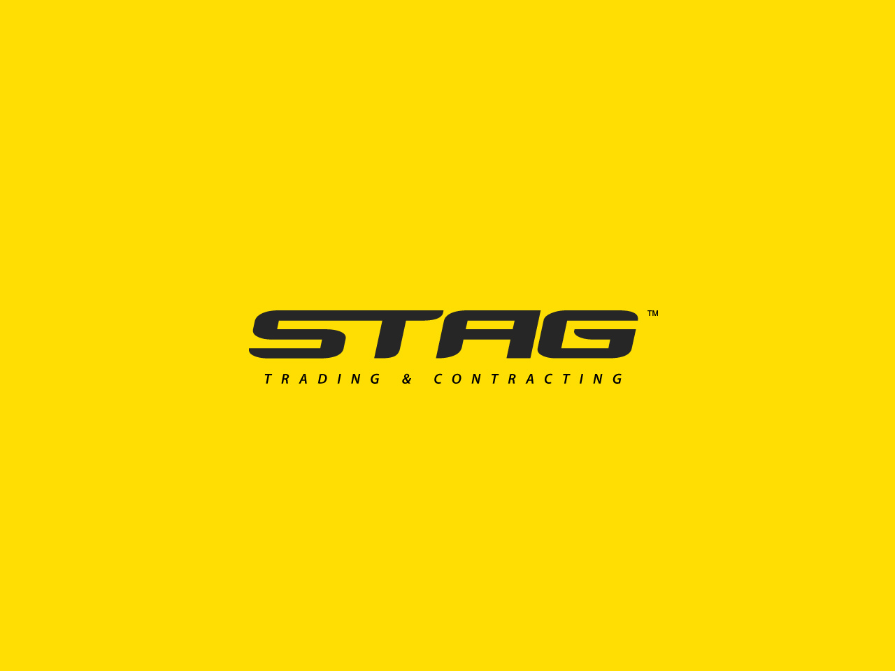 Logo Design by jpbituin - Entry No. 15 in the Logo Design Contest Captivating Logo Design for STAG Trading & Contracting.
