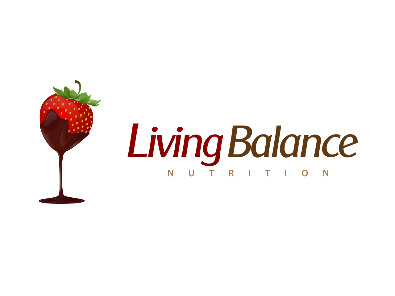 Logo Design by jpbituin - Entry No. 52 in the Logo Design Contest Unique Logo Design Wanted for Living Balance Nutrition.