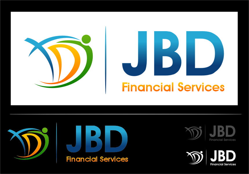 Logo Design by RasYa Muhammad Athaya - Entry No. 101 in the Logo Design Contest Unique Logo Design Wanted for JDB Financial Services.