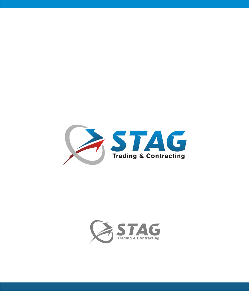 Logo Design by graphicleaf - Entry No. 20 in the Logo Design Contest Captivating Logo Design for STAG Trading & Contracting.