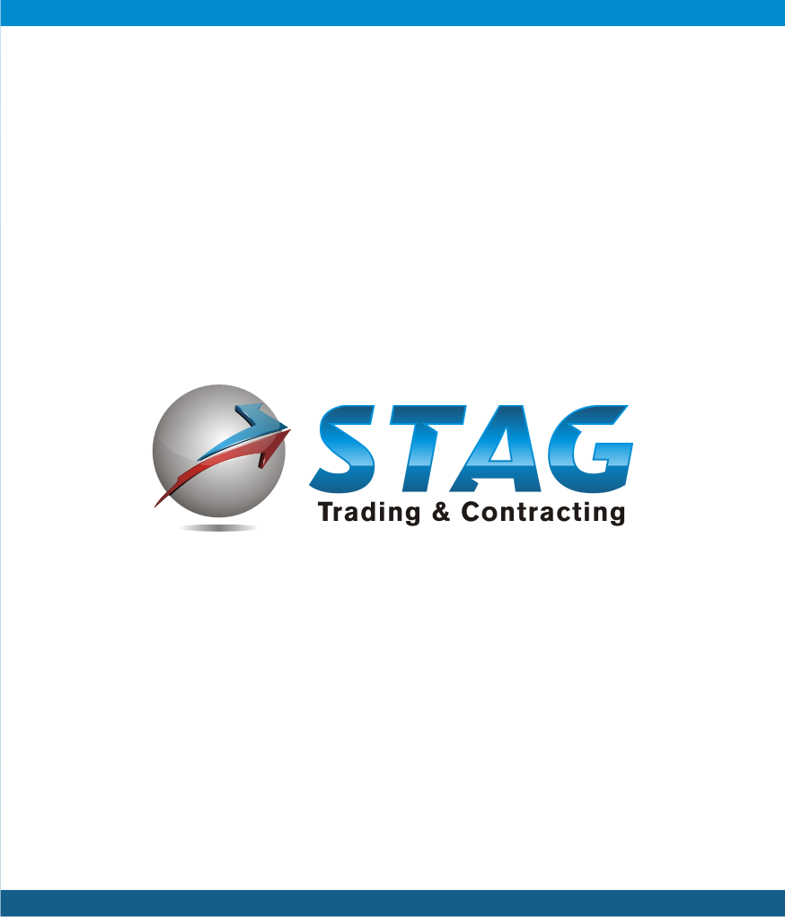 Logo Design by graphicleaf - Entry No. 21 in the Logo Design Contest Captivating Logo Design for STAG Trading & Contracting.