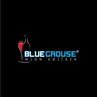 Logo Design by lagalag - Entry No. 78 in the Logo Design Contest Creative Logo Design for Blue Grouse Wine Cellars.