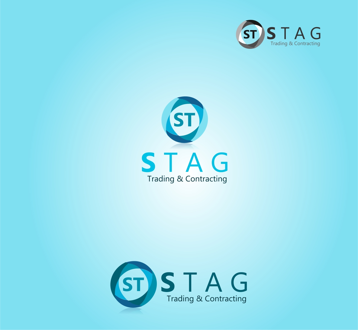 Logo Design by Private User - Entry No. 25 in the Logo Design Contest Captivating Logo Design for STAG Trading & Contracting.