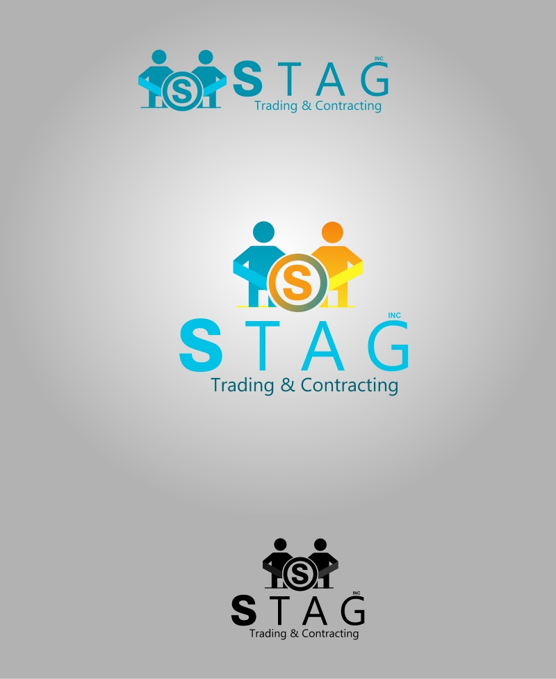 Logo Design by Private User - Entry No. 26 in the Logo Design Contest Captivating Logo Design for STAG Trading & Contracting.