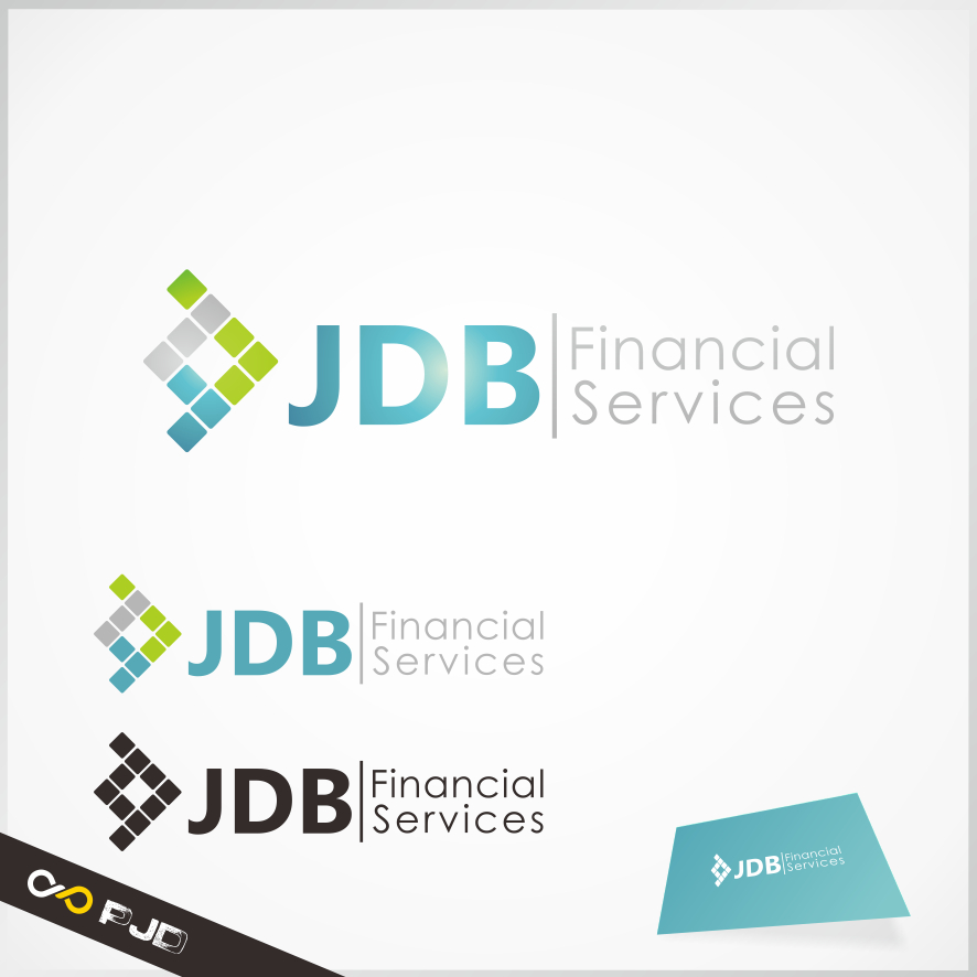 Logo Design by PJD - Entry No. 107 in the Logo Design Contest Unique Logo Design Wanted for JDB Financial Services.