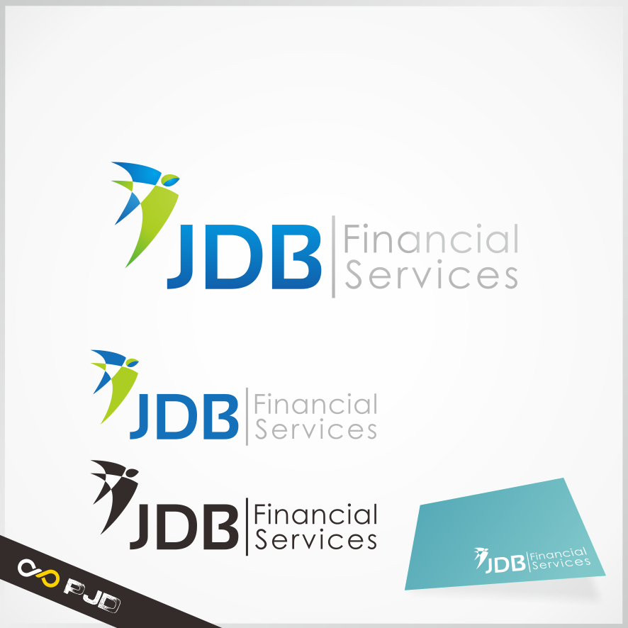 Logo Design by PJD - Entry No. 108 in the Logo Design Contest Unique Logo Design Wanted for JDB Financial Services.
