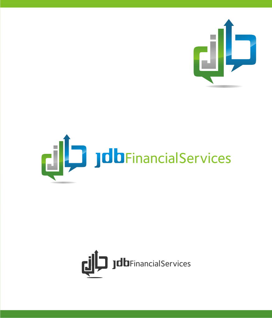 Logo Design by graphicleaf - Entry No. 109 in the Logo Design Contest Unique Logo Design Wanted for JDB Financial Services.