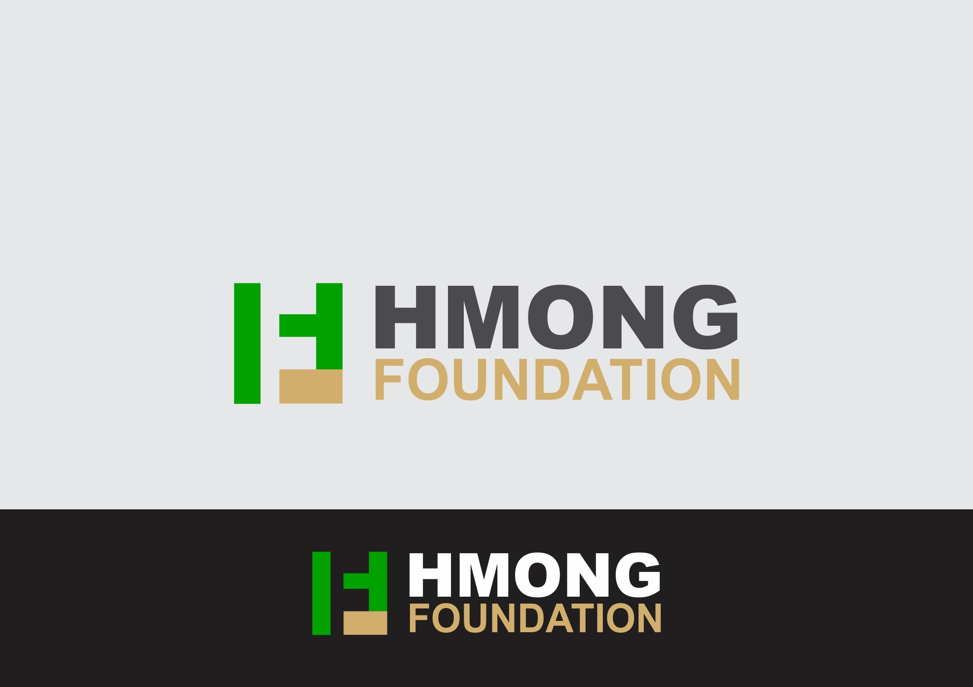 Logo Design by Rizwan Saeed - Entry No. 46 in the Logo Design Contest Fun Logo Design for Hmong Foundation.