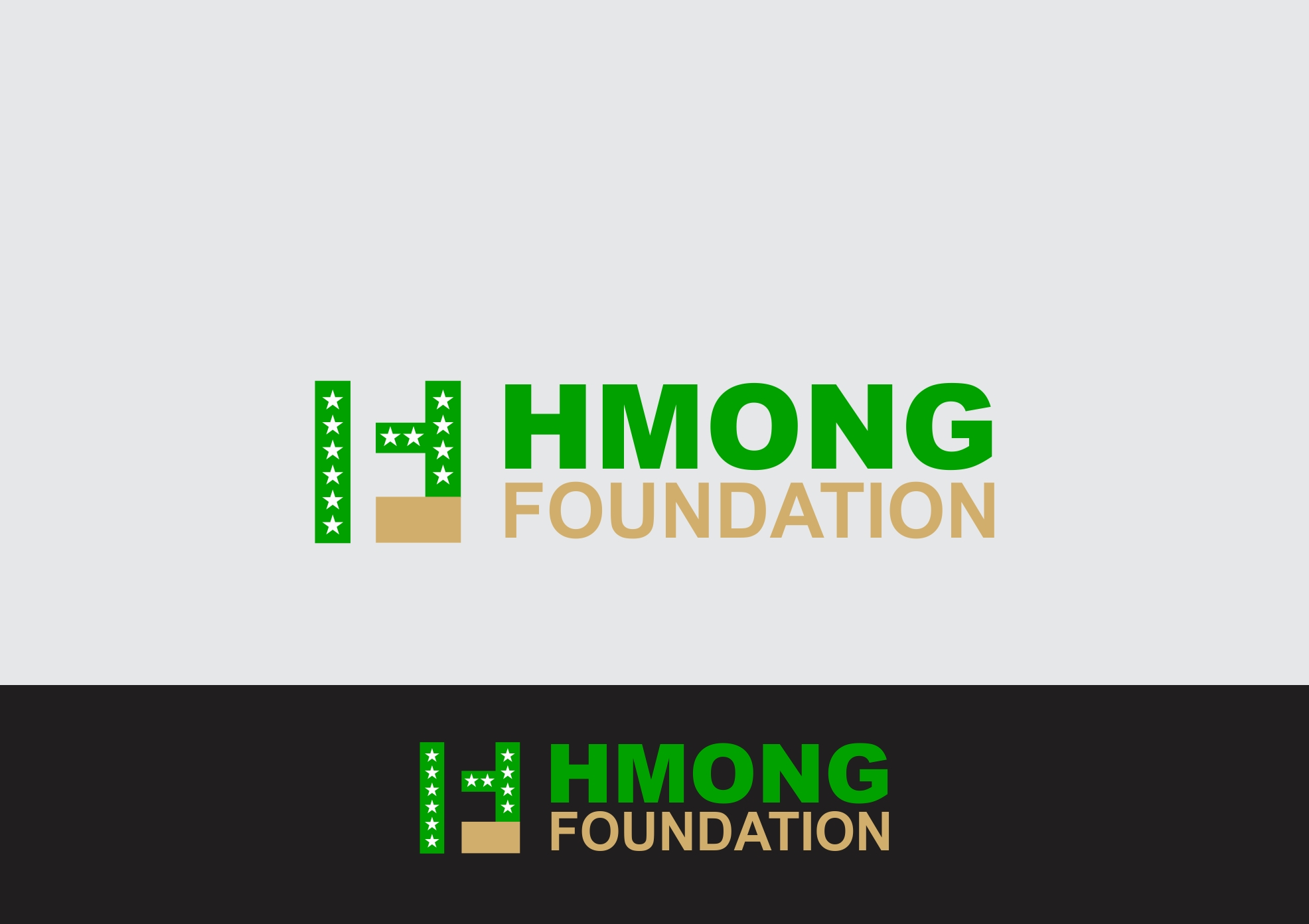 Logo Design by Rizwan Saeed - Entry No. 47 in the Logo Design Contest Fun Logo Design for Hmong Foundation.