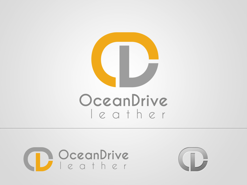 Logo Design by khoirul.azm - Entry No. 33 in the Logo Design Contest Captivating Logo Design for Oceandrive Leather.