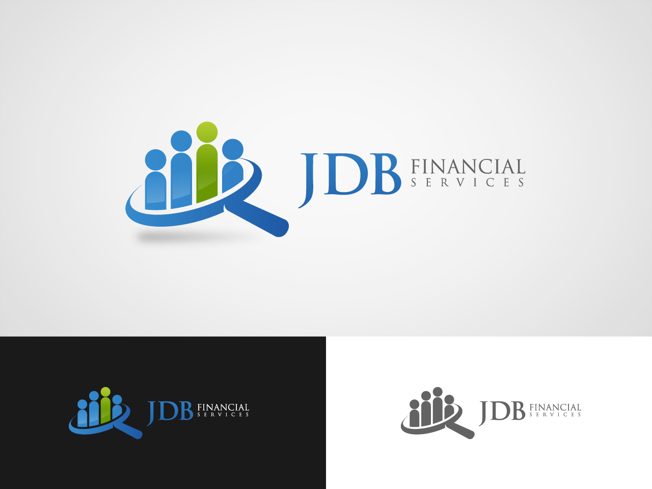 Logo Design by jpbituin - Entry No. 114 in the Logo Design Contest Unique Logo Design Wanted for JDB Financial Services.