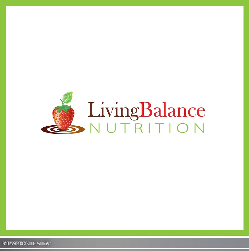 Logo Design by kowreck - Entry No. 57 in the Logo Design Contest Unique Logo Design Wanted for Living Balance Nutrition.