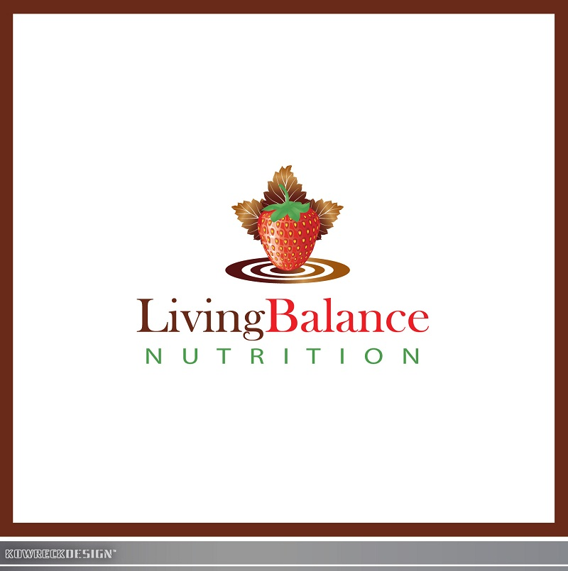Logo Design by kowreck - Entry No. 58 in the Logo Design Contest Unique Logo Design Wanted for Living Balance Nutrition.