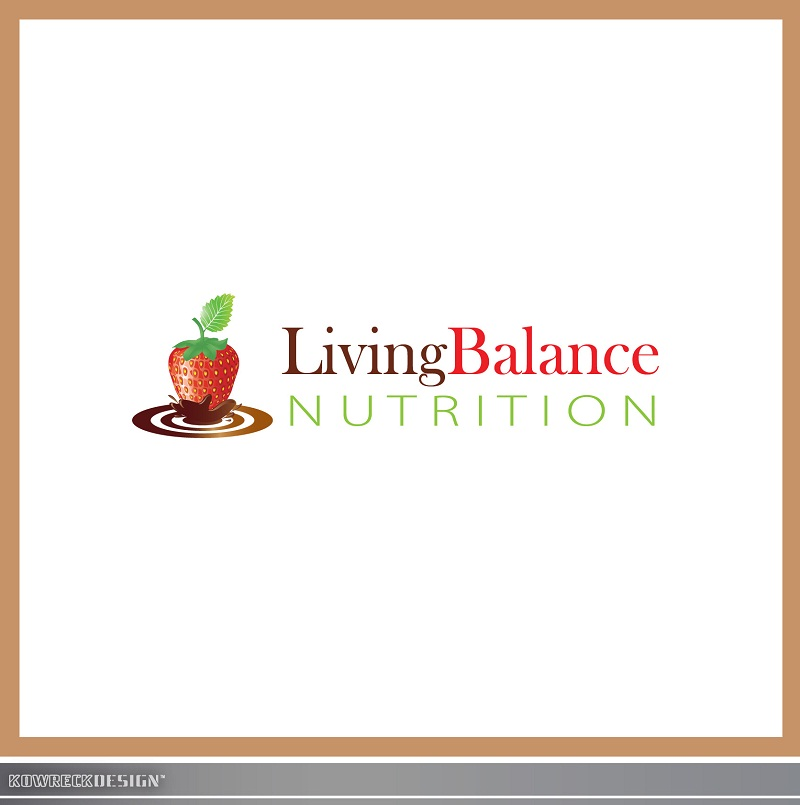Logo Design by kowreck - Entry No. 59 in the Logo Design Contest Unique Logo Design Wanted for Living Balance Nutrition.