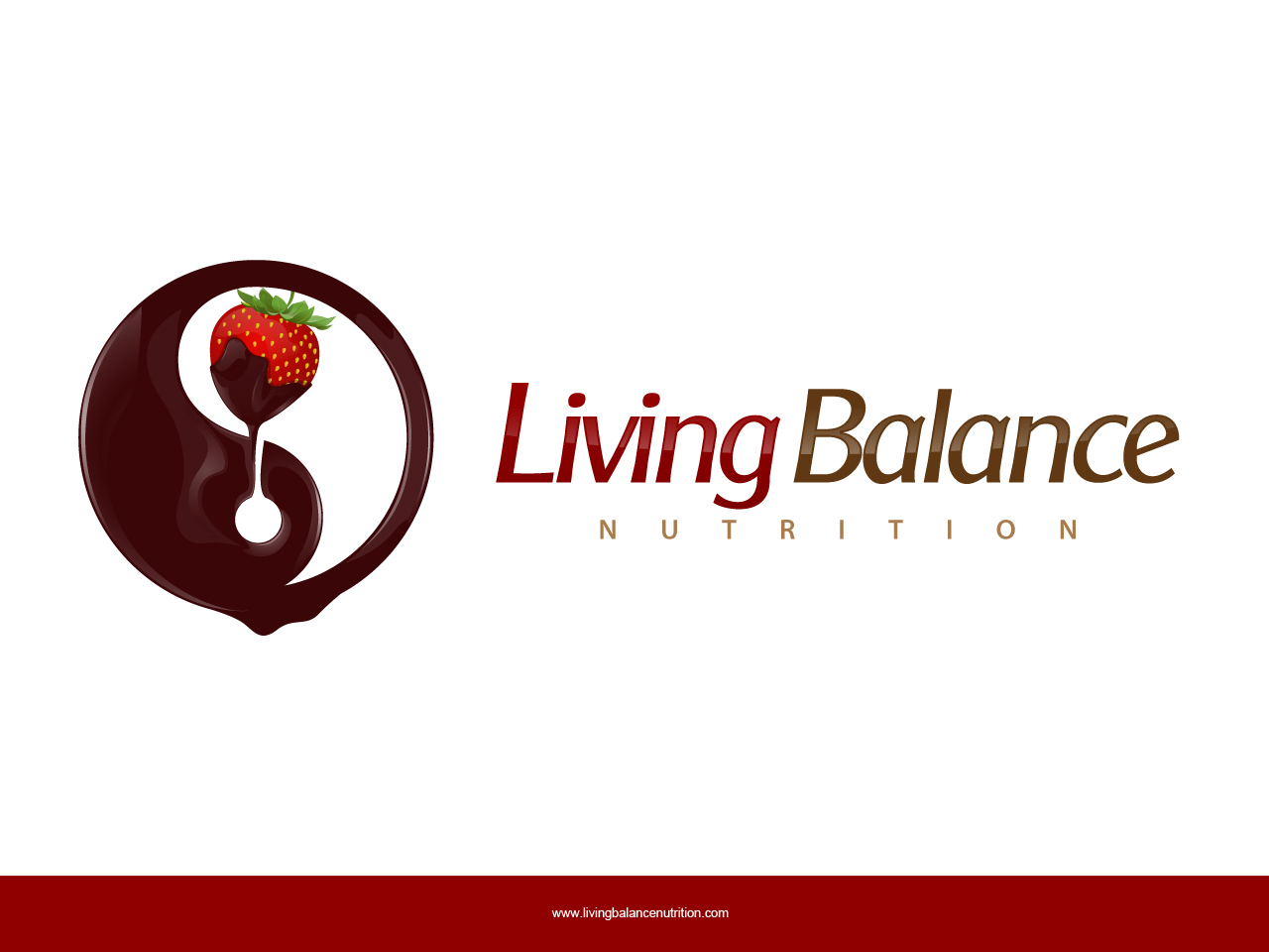 Logo Design by jpbituin - Entry No. 60 in the Logo Design Contest Unique Logo Design Wanted for Living Balance Nutrition.