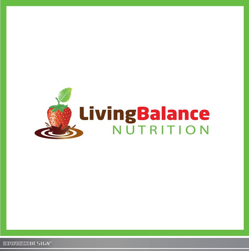 Logo Design by kowreck - Entry No. 61 in the Logo Design Contest Unique Logo Design Wanted for Living Balance Nutrition.