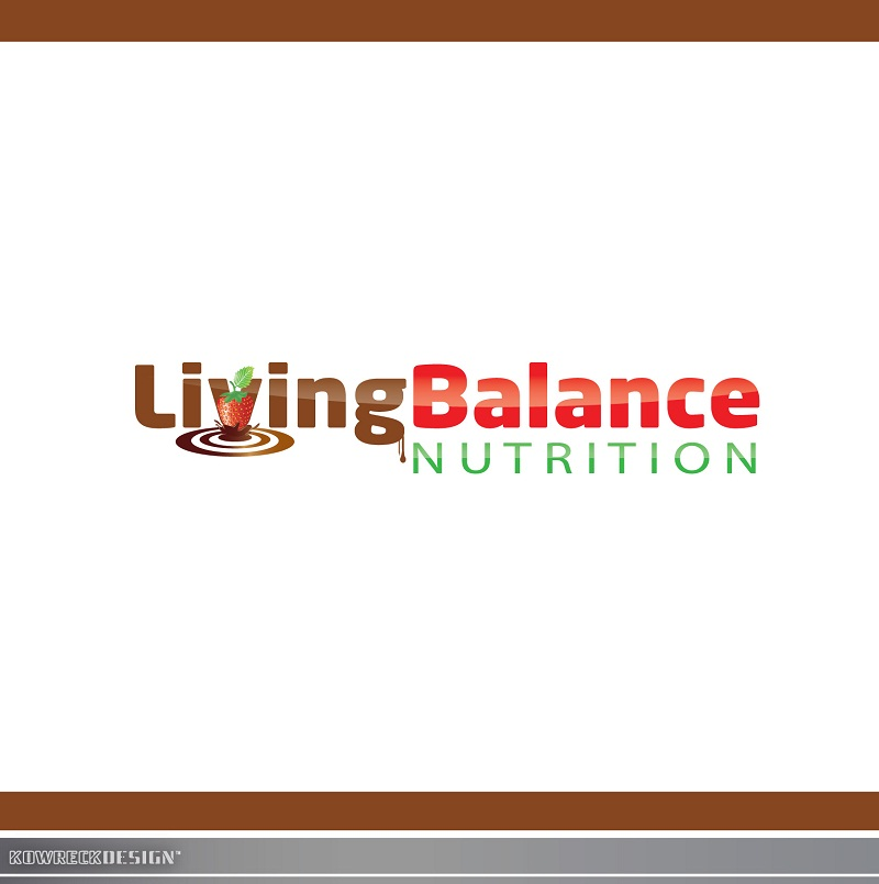 Logo Design by kowreck - Entry No. 62 in the Logo Design Contest Unique Logo Design Wanted for Living Balance Nutrition.