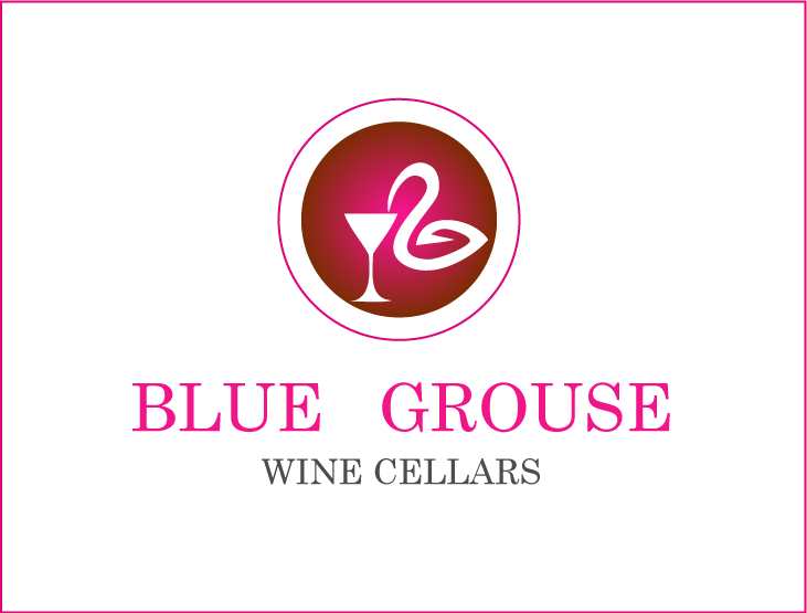 Logo Design by Private User - Entry No. 99 in the Logo Design Contest Creative Logo Design for Blue Grouse Wine Cellars.