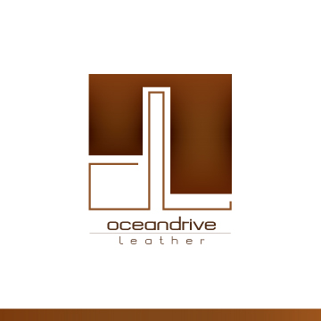 Logo Design by Ricky Frutos - Entry No. 37 in the Logo Design Contest Captivating Logo Design for Oceandrive Leather.