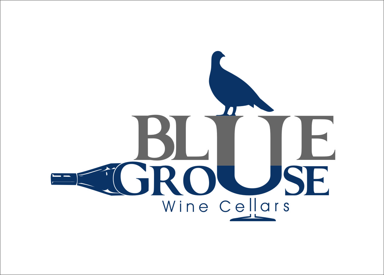 Logo Design by Ngepet_art - Entry No. 106 in the Logo Design Contest Creative Logo Design for Blue Grouse Wine Cellars.