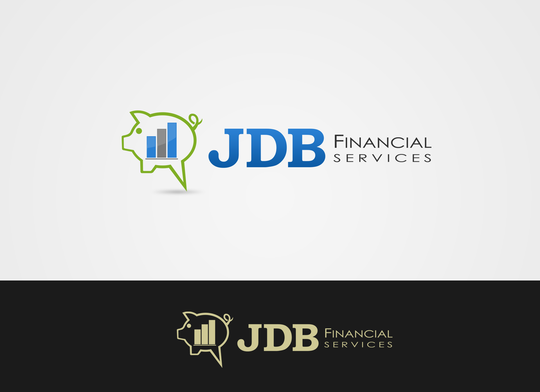 Logo Design by omARTist - Entry No. 127 in the Logo Design Contest Unique Logo Design Wanted for JDB Financial Services.