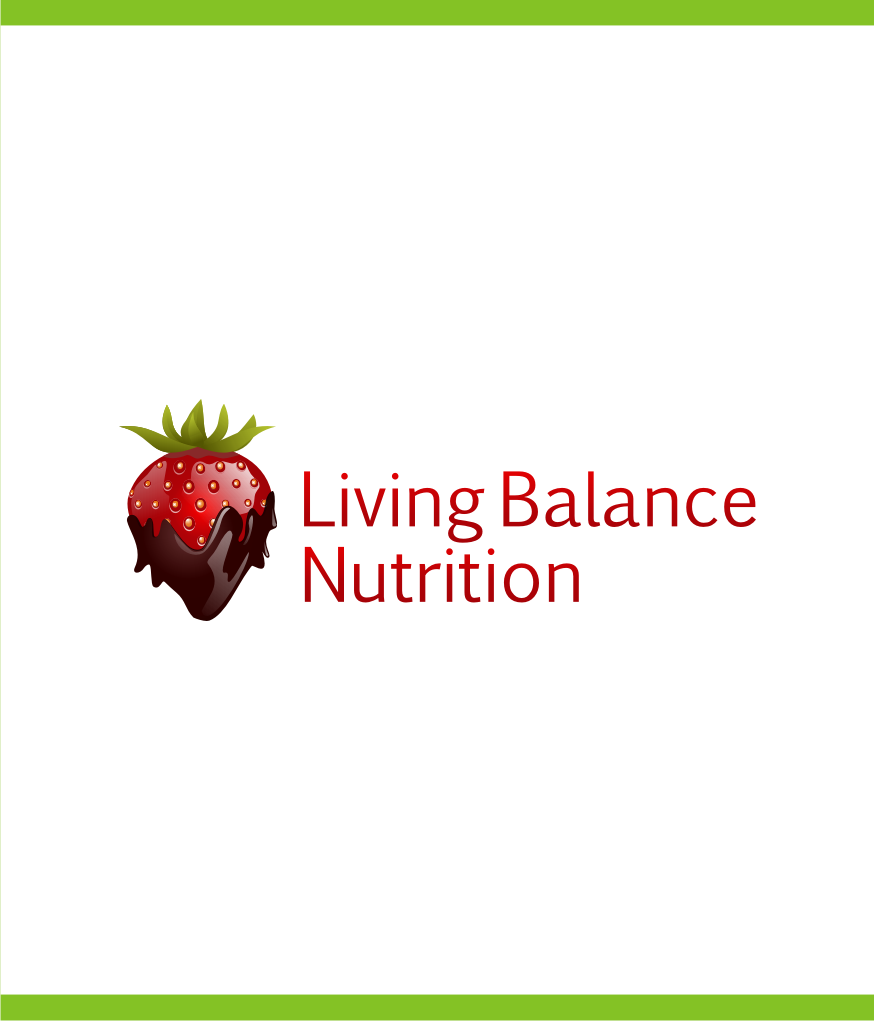 Logo Design by Muhammad Nasrul chasib - Entry No. 70 in the Logo Design Contest Unique Logo Design Wanted for Living Balance Nutrition.