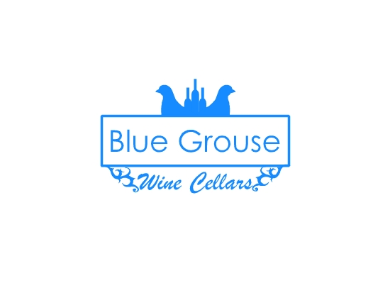 Logo Design by Ismail Adhi Wibowo - Entry No. 113 in the Logo Design Contest Creative Logo Design for Blue Grouse Wine Cellars.