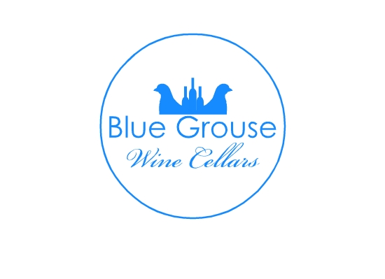 Logo Design by Ismail Adhi Wibowo - Entry No. 114 in the Logo Design Contest Creative Logo Design for Blue Grouse Wine Cellars.
