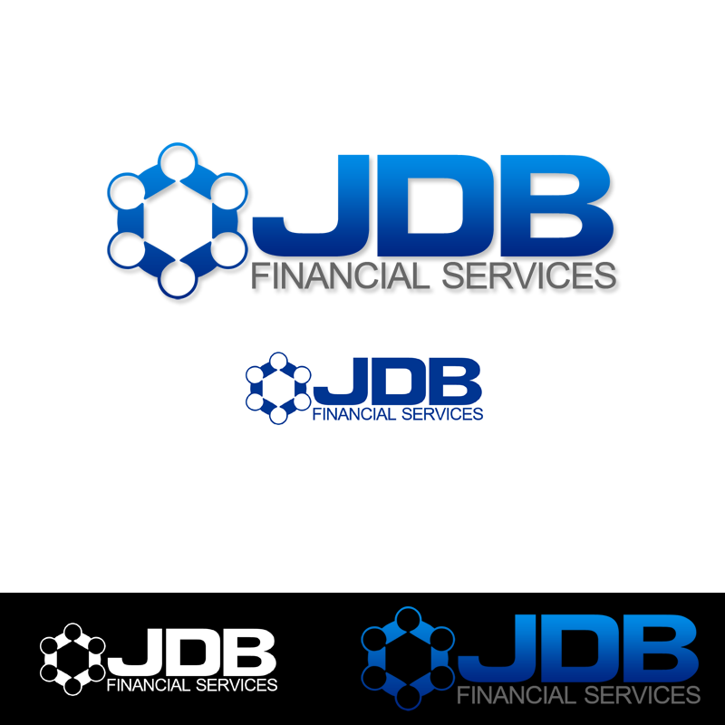 Logo Design by Private User - Entry No. 132 in the Logo Design Contest Unique Logo Design Wanted for JDB Financial Services.