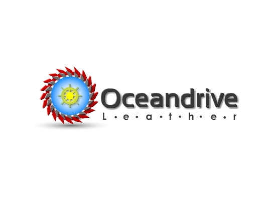 Logo Design by Ismail Adhi Wibowo - Entry No. 39 in the Logo Design Contest Captivating Logo Design for Oceandrive Leather.
