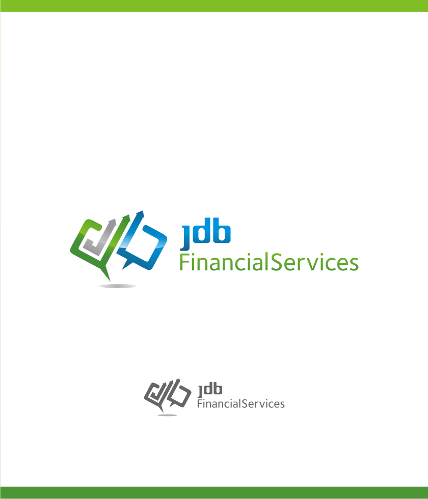 Logo Design by graphicleaf - Entry No. 136 in the Logo Design Contest Unique Logo Design Wanted for JDB Financial Services.