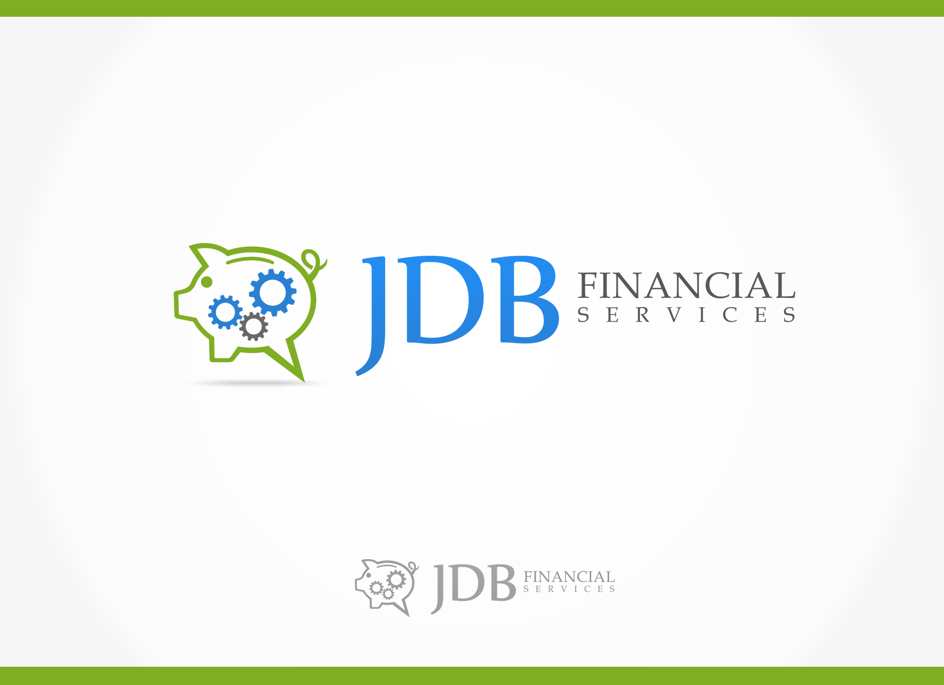 Logo Design by omARTist - Entry No. 137 in the Logo Design Contest Unique Logo Design Wanted for JDB Financial Services.