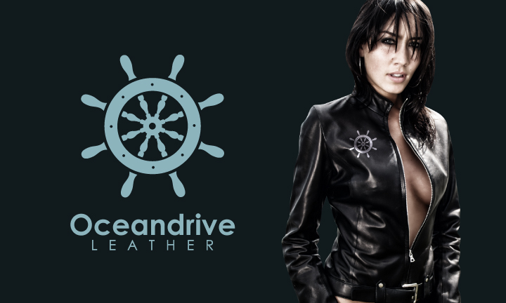 Logo Design by Top Elite - Entry No. 41 in the Logo Design Contest Captivating Logo Design for Oceandrive Leather.