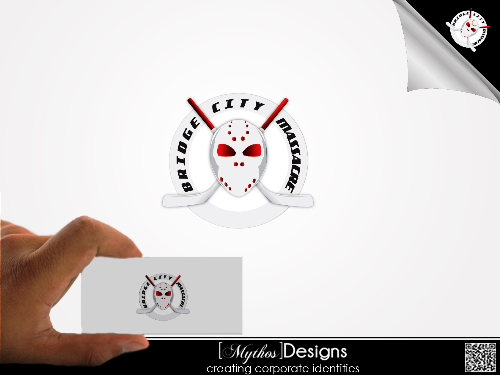 Logo Design by Mythos Designs - Entry No. 4 in the Logo Design Contest New Logo Design for Bridge City Massacre.