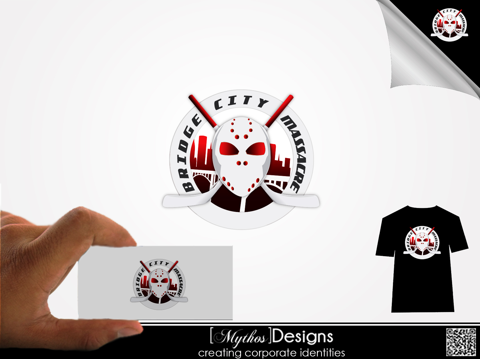 Logo Design by Mythos Designs - Entry No. 5 in the Logo Design Contest New Logo Design for Bridge City Massacre.