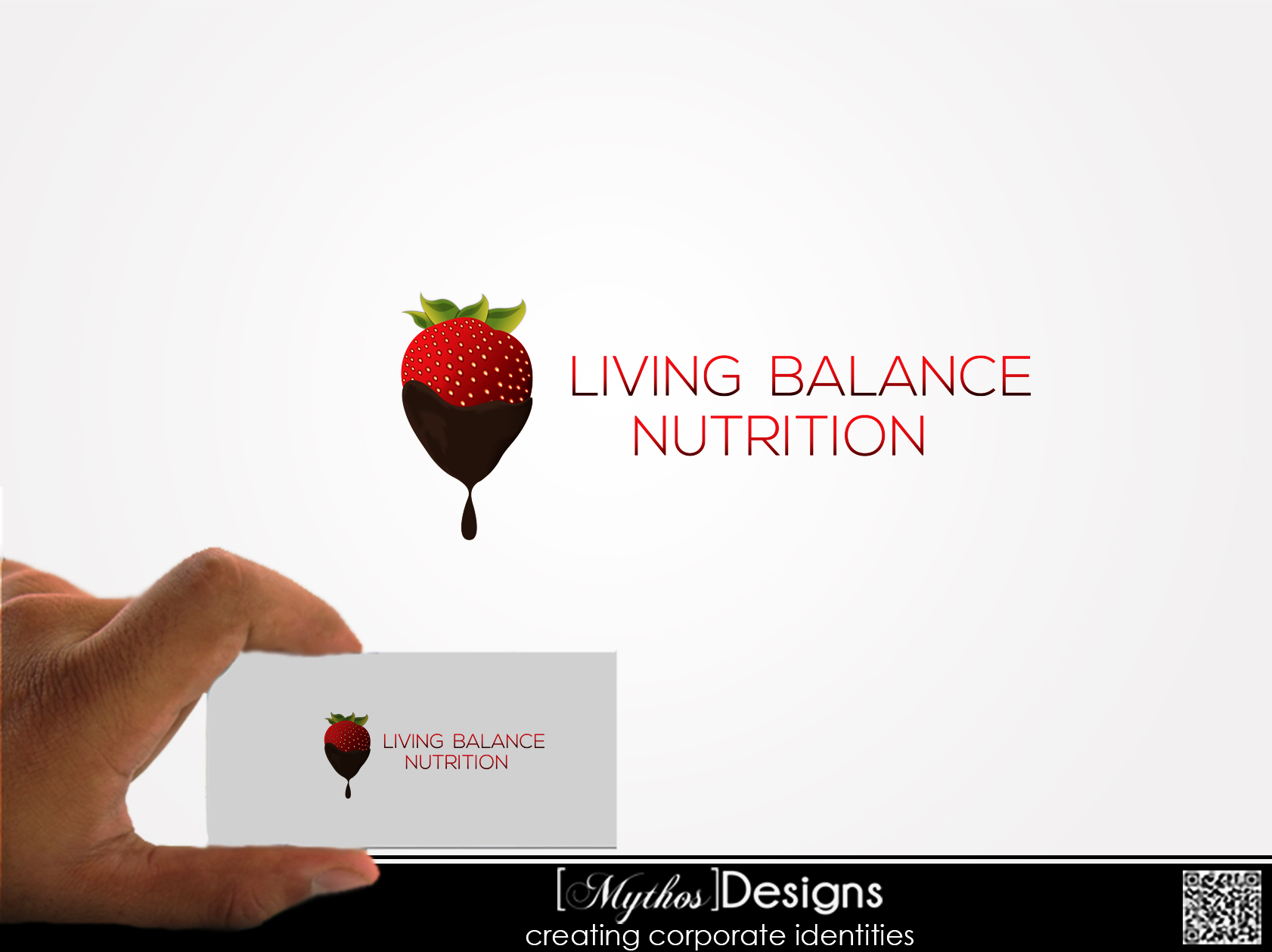 Logo Design by Mythos Designs - Entry No. 76 in the Logo Design Contest Unique Logo Design Wanted for Living Balance Nutrition.
