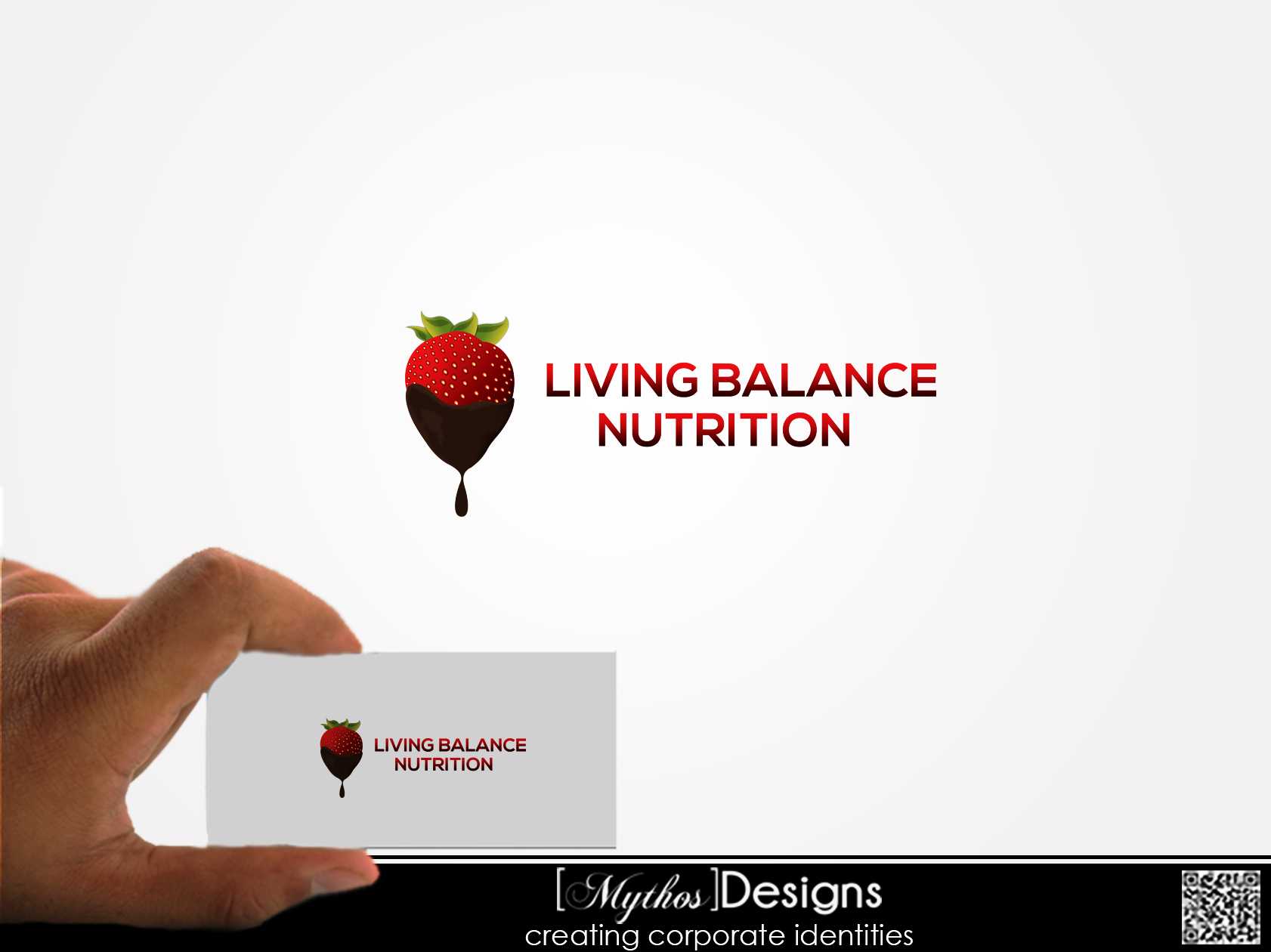 Logo Design by Mythos Designs - Entry No. 77 in the Logo Design Contest Unique Logo Design Wanted for Living Balance Nutrition.