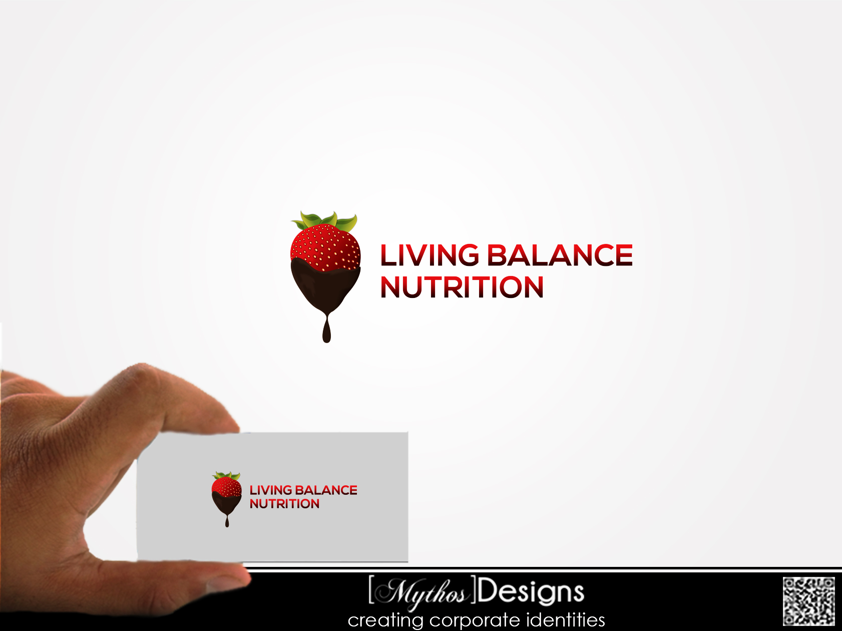 Logo Design by Mythos Designs - Entry No. 78 in the Logo Design Contest Unique Logo Design Wanted for Living Balance Nutrition.