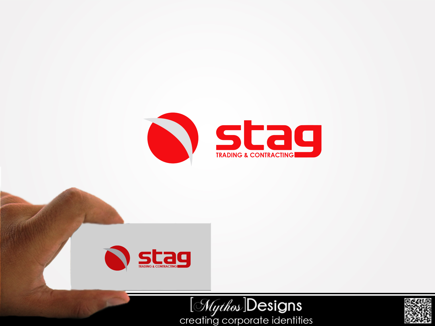Logo Design by Mythos Designs - Entry No. 34 in the Logo Design Contest Captivating Logo Design for STAG Trading & Contracting.