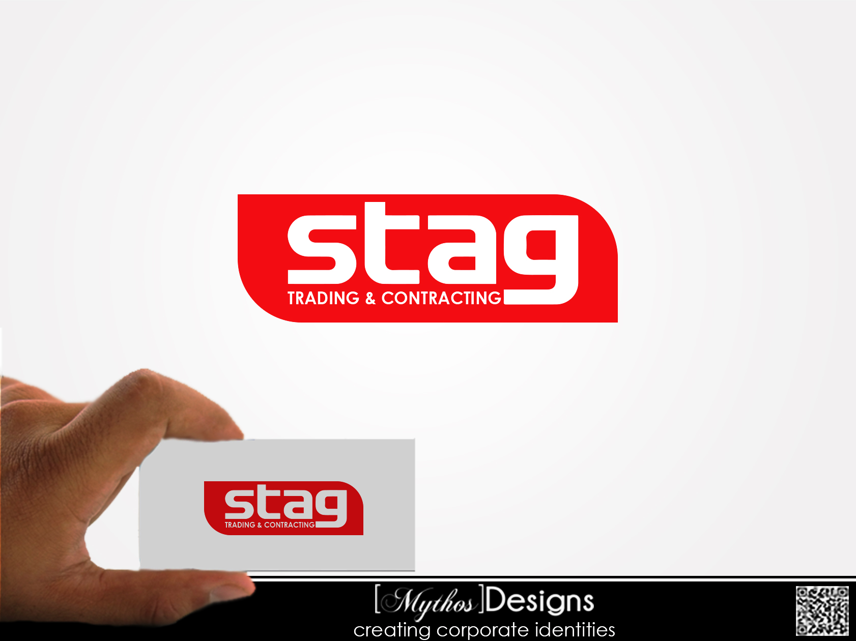 Logo Design by Mythos Designs - Entry No. 36 in the Logo Design Contest Captivating Logo Design for STAG Trading & Contracting.