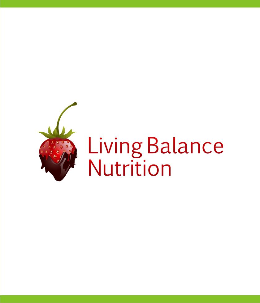 Logo Design by Muhammad Nasrul chasib - Entry No. 79 in the Logo Design Contest Unique Logo Design Wanted for Living Balance Nutrition.