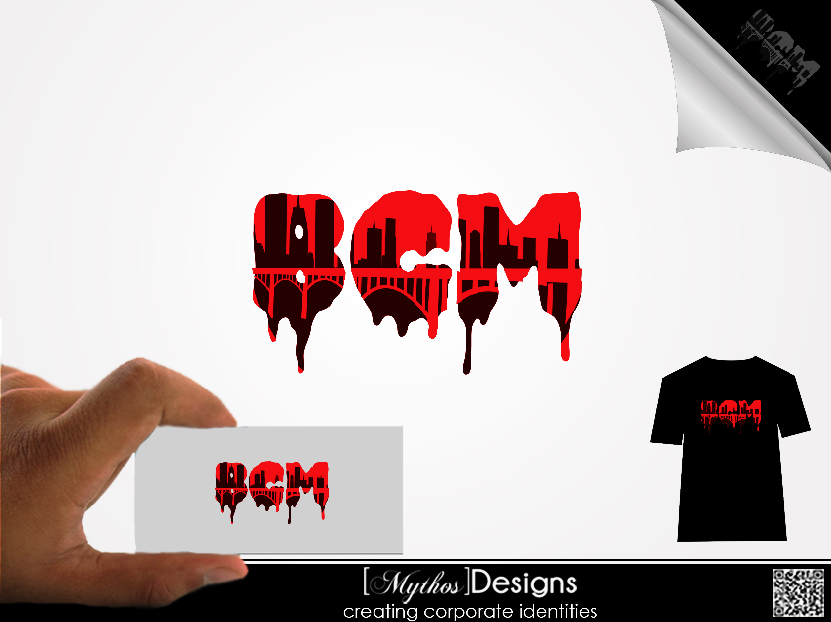 Logo Design by Mythos Designs - Entry No. 6 in the Logo Design Contest New Logo Design for Bridge City Massacre.