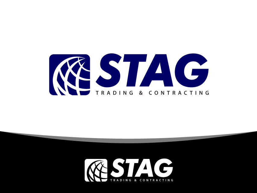 Logo Design by Richard Soriano - Entry No. 40 in the Logo Design Contest Captivating Logo Design for STAG Trading & Contracting.